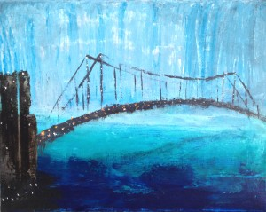"""The Bridge"" Sold - Private Collector"